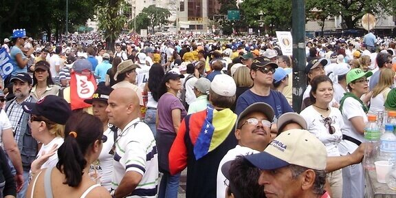 In Venezuela are Trouble on the Streets